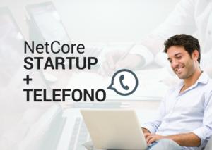 NetCore STARTUP + TELEFONO - Social Facebook