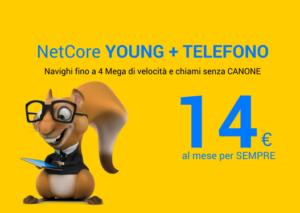 NetCore YOUNG + TELEFONO - Social Facebook